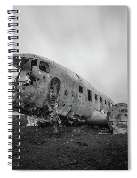 Dc 3 Passing Time Bw Spiral Notebook