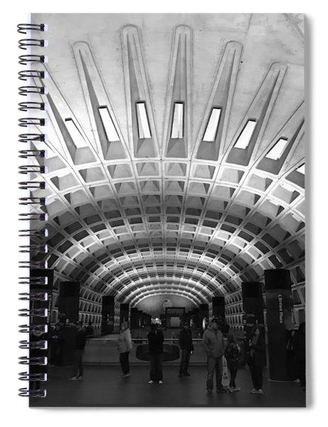 D.c. Metro Spiral Notebook