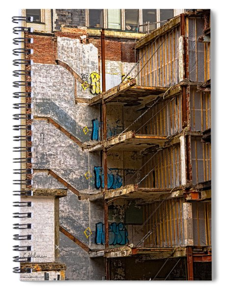 De-construction Spiral Notebook