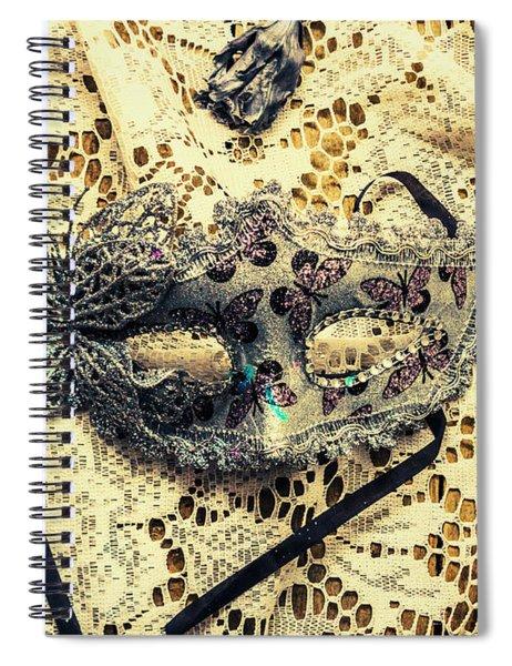 Dead Blossoms Days Spiral Notebook