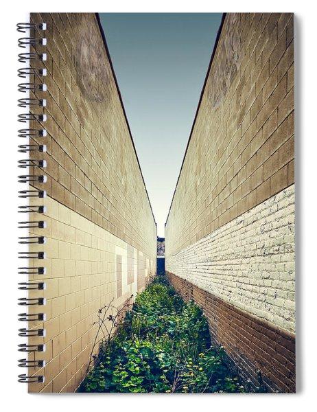 Dead End Alley Spiral Notebook