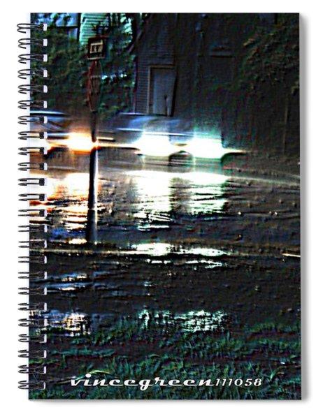 Dead Heat Spiral Notebook
