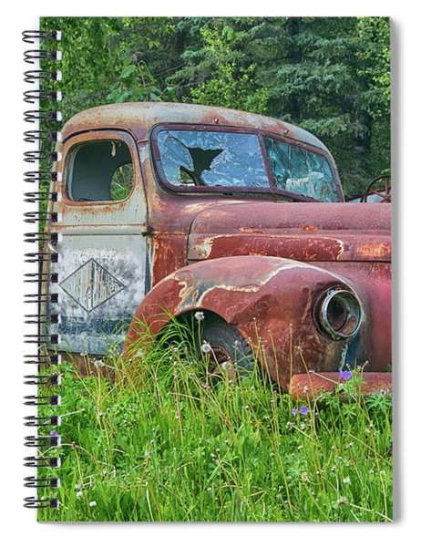 Dead International Harvester Spiral Notebook