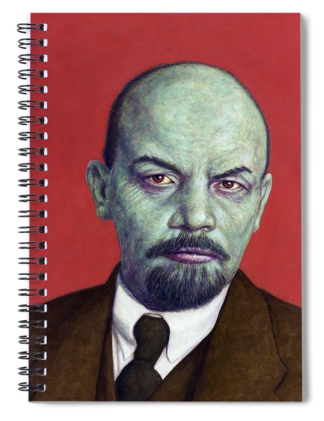 Dead Red - Lenin Spiral Notebook