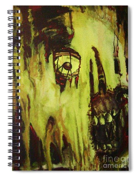 Dead Skin Mask Spiral Notebook