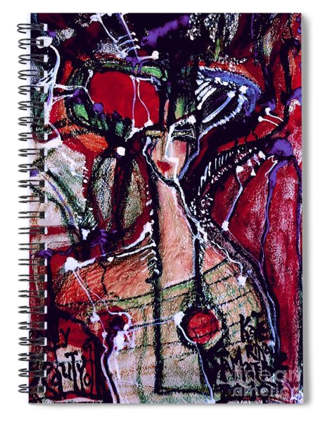 Deadly Beauty-11 Spiral Notebook