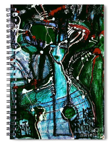 Deadly Beauty-12 Spiral Notebook