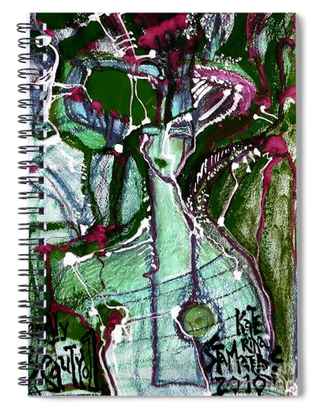Deadly Beauty-2 Spiral Notebook
