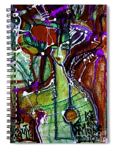 Deadly Beauty-5 Spiral Notebook