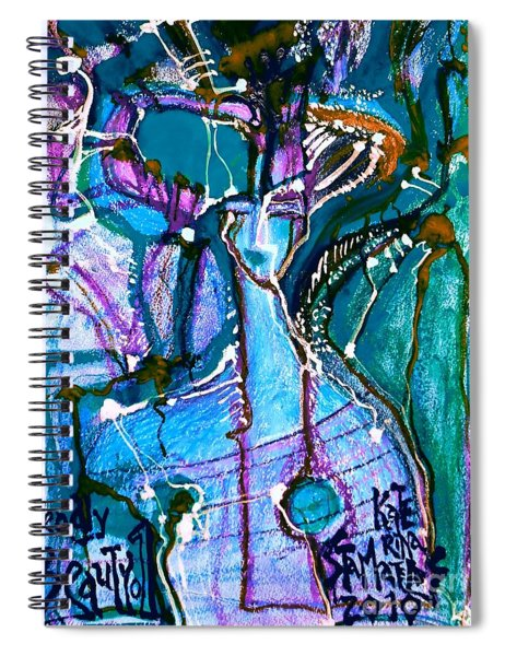 Deadly Beauty-6 Spiral Notebook