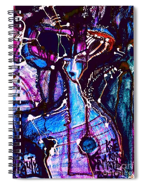 Deadly Beauty-9 Spiral Notebook