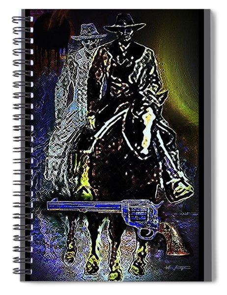 Deadly  Legacy Spiral Notebook