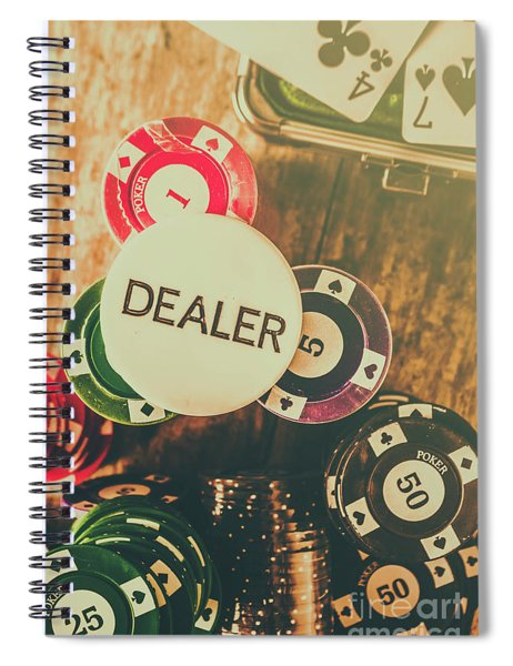 Dealers House Edge Spiral Notebook
