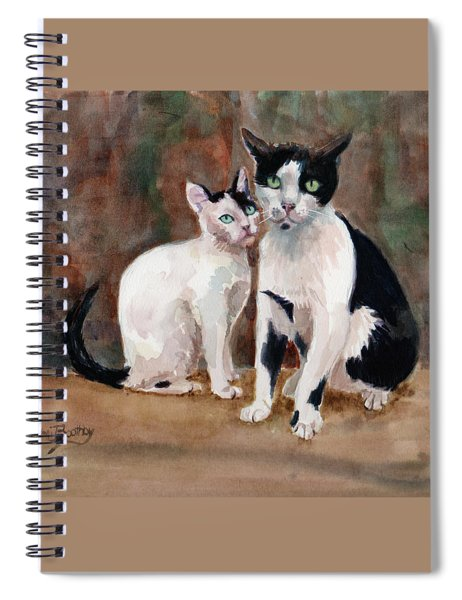 Deano And Sparky Spiral Notebook