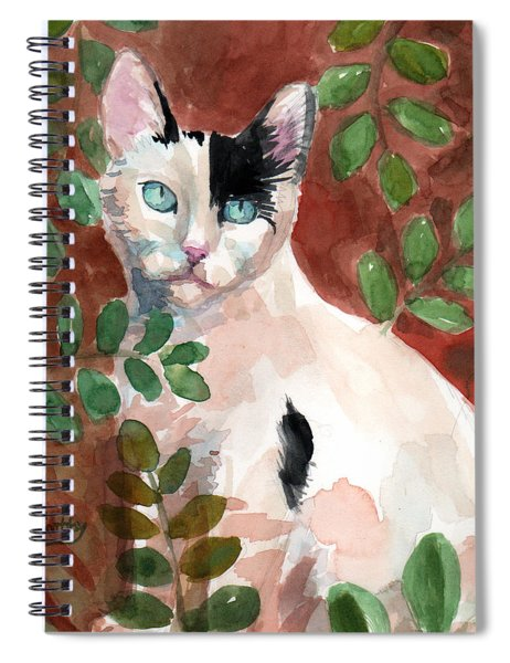 Deano In The Brush Spiral Notebook