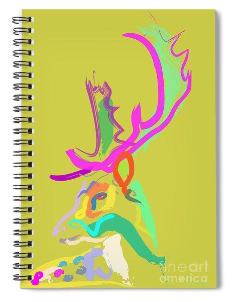 Dear Deer Spiral Notebook