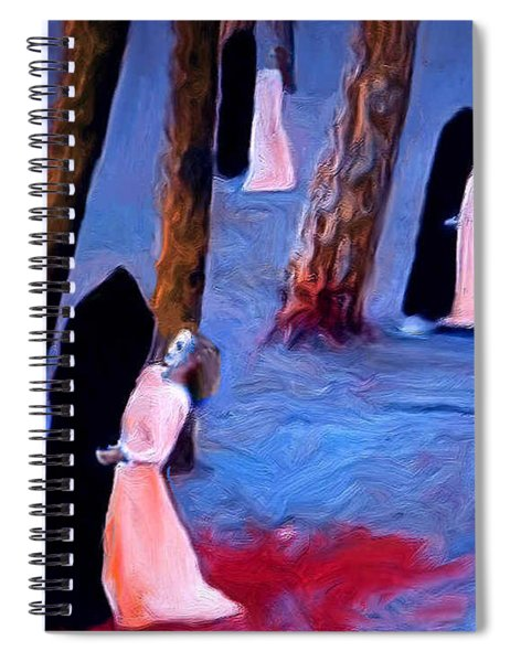 Death And The Maidens Spiral Notebook