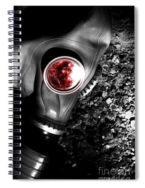 Death In Battle Spiral Notebook
