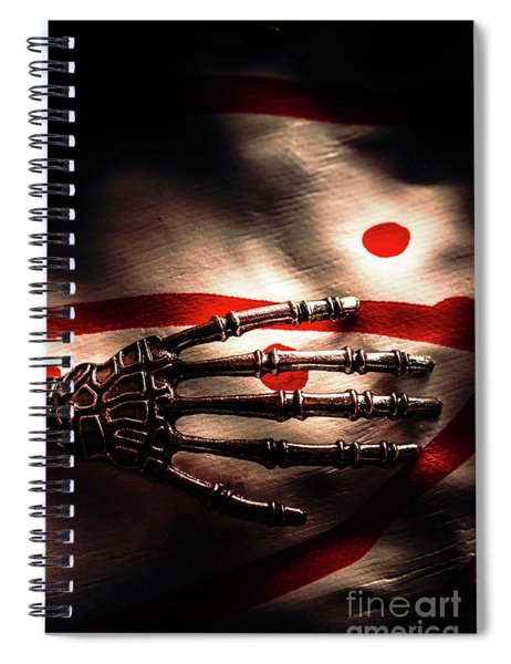 Death Metal Ai Spiral Notebook