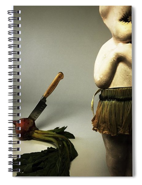 Death Of A Vegetable Spiral Notebook