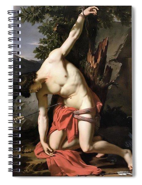Death Of Saint Sebasian Spiral Notebook