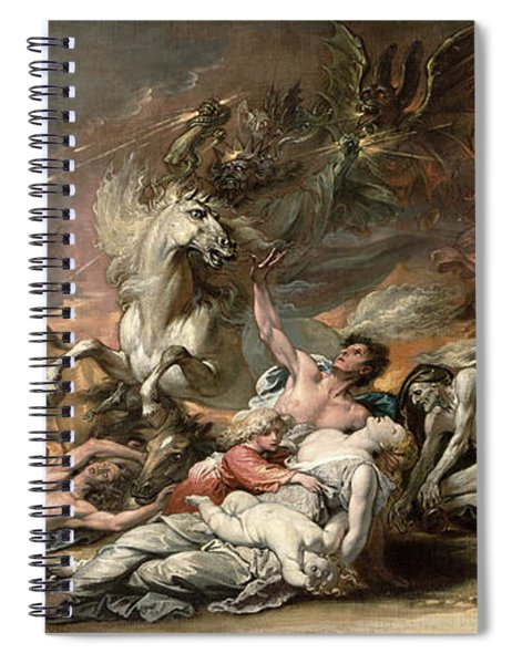 Death On The Pale Horse Spiral Notebook