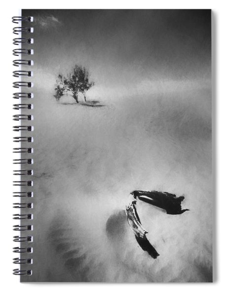 Death Valley 1990 Spiral Notebook