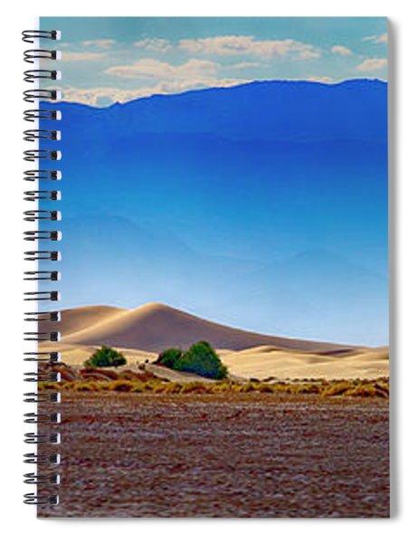 Death Valley Dunes Spiral Notebook