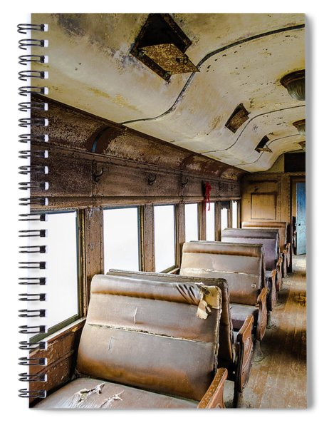 Decay Spiral Notebook