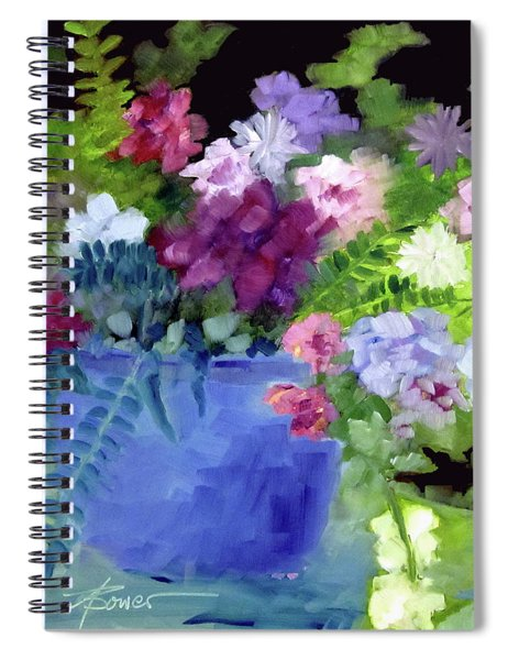 December Blue Spiral Notebook