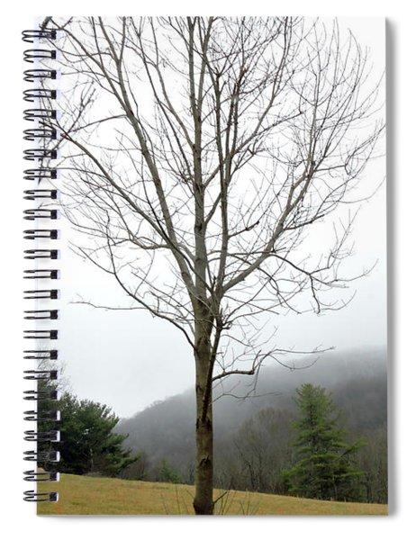December Mist Spiral Notebook