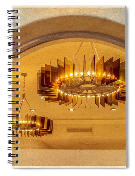 Deco Arches Spiral Notebook