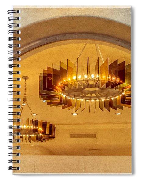 Deco Arches Spiral Notebook