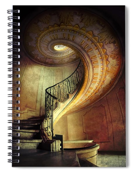 Decorated Spiral Staircase  Spiral Notebook