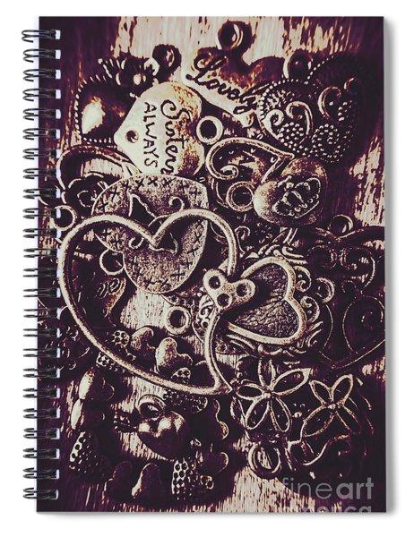 Decorating A Love Nest Spiral Notebook