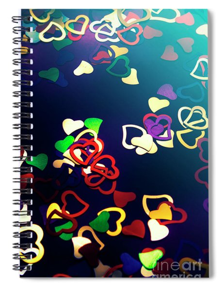 Decorations In Romance Spiral Notebook
