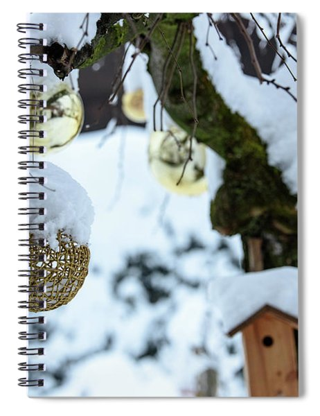 Decorations In The Snow Spiral Notebook