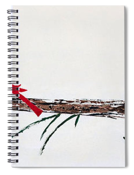 Decorative Cardinals A101216 Spiral Notebook