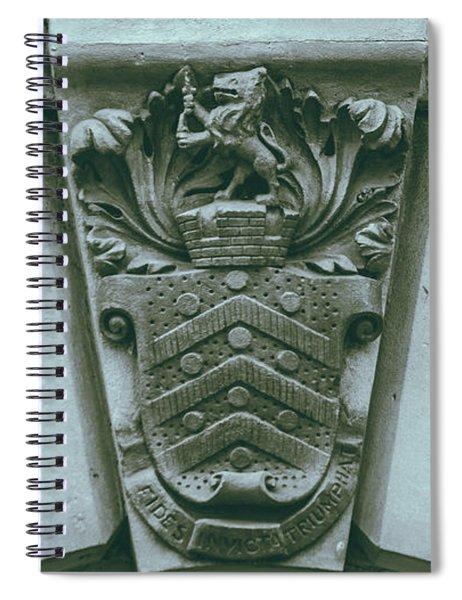 Decorative Keystone Architecture Details C Spiral Notebook