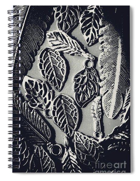 Decorative Nature Design  Spiral Notebook