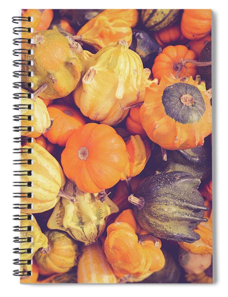 Decorative Squash And Gourds Spiral Notebook