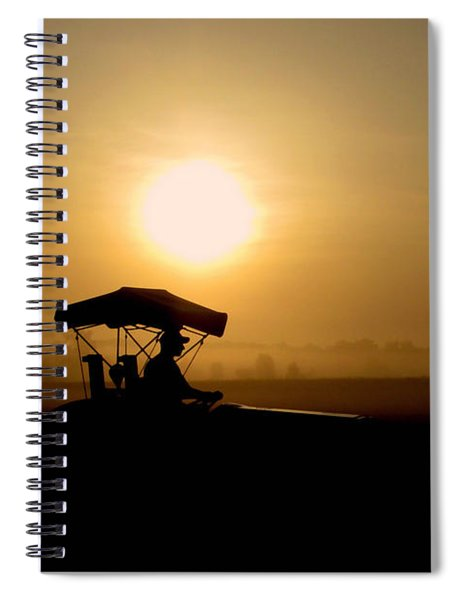 Dedication Of A Farmer Spiral Notebook