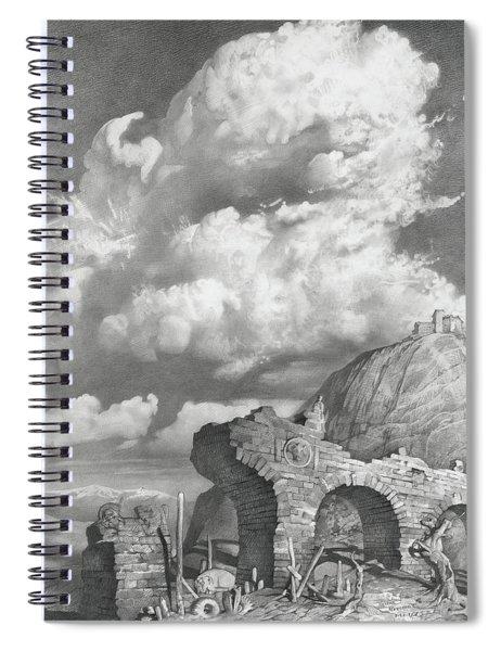 Dedication To William Blake  Spiral Notebook