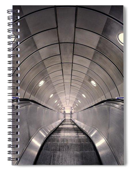 Deep Down Below Spiral Notebook