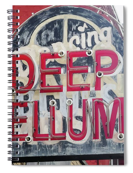 Spiral Notebook featuring the photograph Deep Ellum Dallas Texas by Robert Bellomy