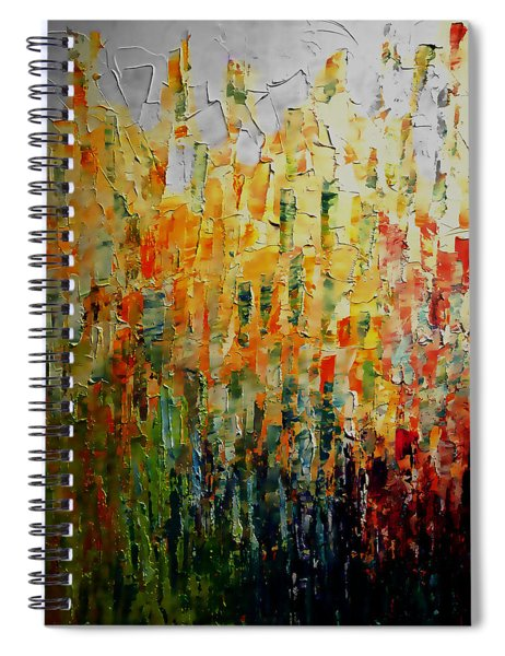 Deep Garden Spiral Notebook