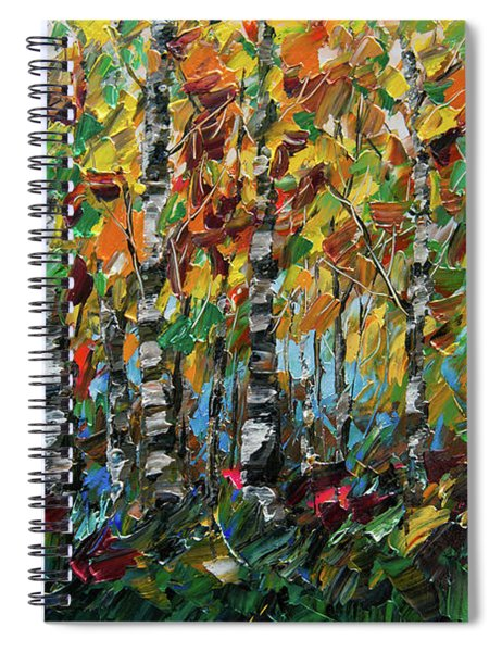Deep In The Woods Spiral Notebook