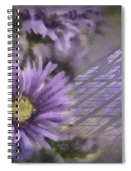 Deep Purple Spiral Notebook