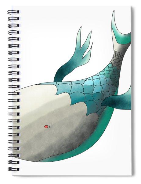 Deep Sea Fish Spiral Notebook