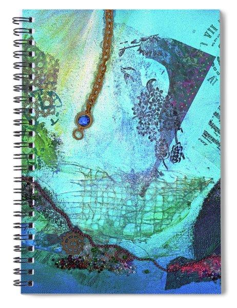 Deep Sea Life Spiral Notebook